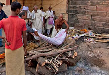 Burning Ghat Cremation